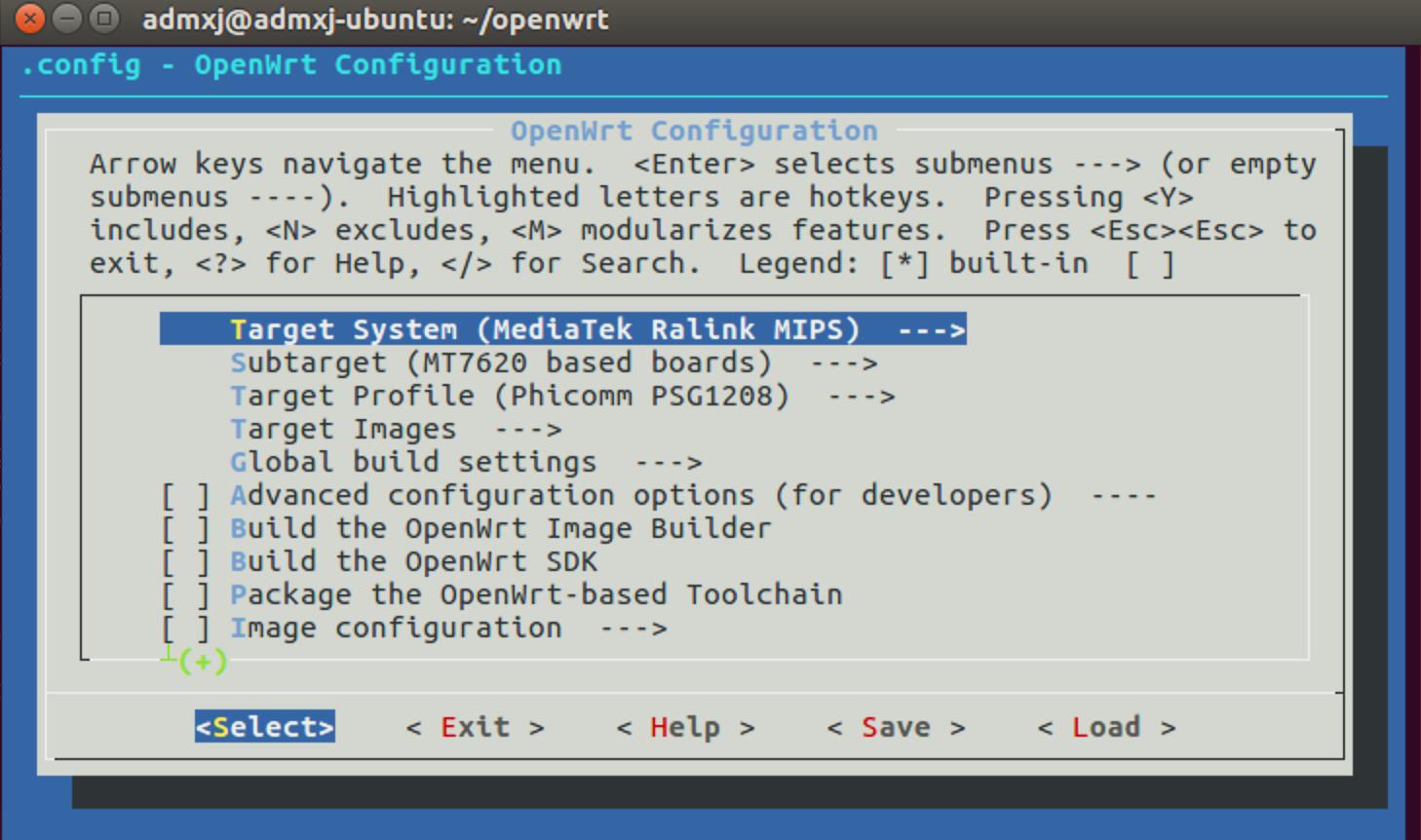 《OpenWrt编译流程》